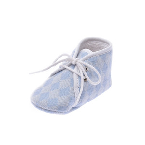 Hermes Baby Unisex First Walking Shoes (Light Blue)
