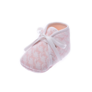 HERMES Hermes First Shoes Baby Pink Unisex Canvas Brand