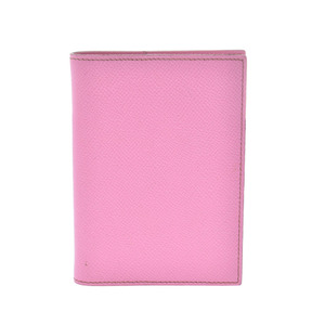 HERMES Hermes Agenda Rose Confetti □ M Engraved Circa 2009 Ladies Vor Epson Notebook Cover