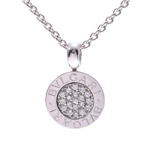 BVLGARI Bvlgari Unisex Diamond K18WG Necklace