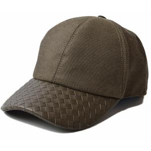 Bottega Veneta Cap Hat BOTTEGA VENETA Men's Baseball Army Green 495486