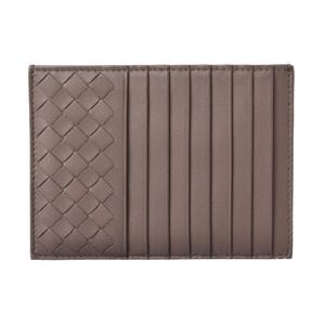 Bottega Veneta Mini Wallet Card Case Coin BOTTEGA VENETA Intreccia Steel 162156 V001N 2905