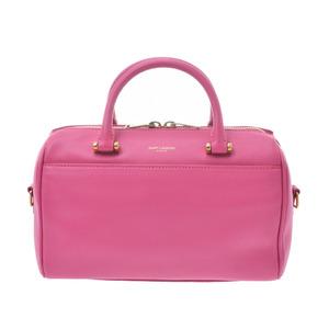 Saint Laurent Handbag Pink Ladies Calf 2WAY Bag