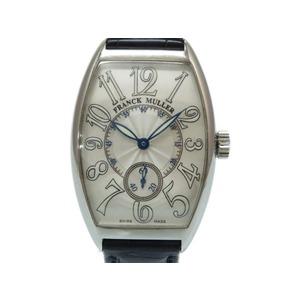 Franck Muller Tonneau Curvex Japan limited 2851 S6 J self-winding watch silver 0017FRANCK MULLER men's