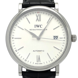 IWC Portofino Mens IW356501 Stainless Steel Silver Dial