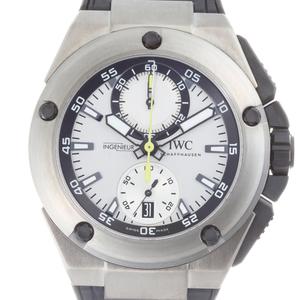 IWC Ingenieur Chronograph Nico Rosberg World 250 Limited Mens IW379603 Titanium Silver Dial