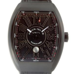 FRANCK MULLER Vanguard Mens Watch V45SC DC Titanium Black Arabian Dial