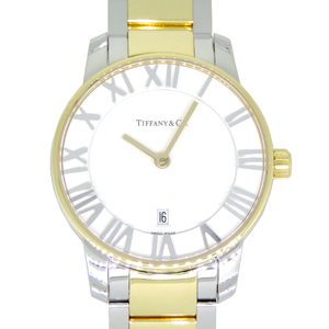 TIFANNY Atlas Dome Ladies Watch Z1830.11.15A21A00A Stainless Steel White Roman Dial