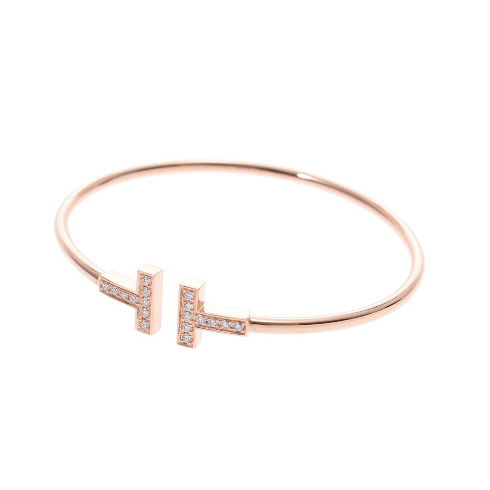 Tiffany Co Tiffany T Wire Bracelet Medium Ladies Pg Diamond Elady Com