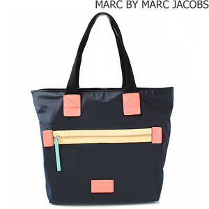 Marc by Marc Jacobs Marc by Jacobs Tote Bag MARC BY JACOBS Domo Arigato Canvas Dark Navy M0006034