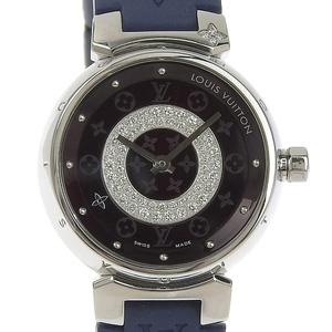 LOUIS VUITTON Tambour Ladies Quartz Watch Q121U