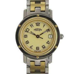 HERMES Clipper Ladies Quartz Watch CL4.220