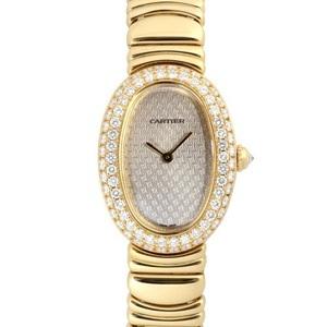 Cartier Quartz Yellow Gold (18K) Women's Luxury Watch Beniwar