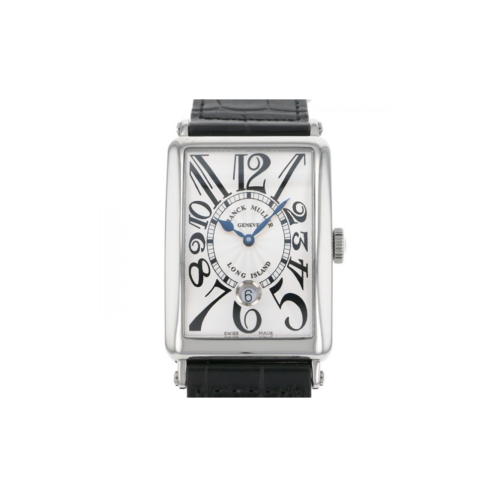 Franck Muller Long Island Automatic Stainless Steel Men's Dress Watch Date