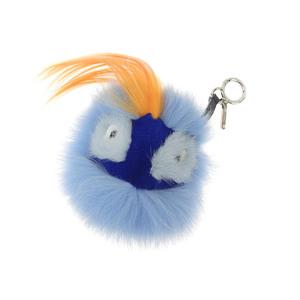 FENDI Fendi Monster Oret Bag Bugs Charm Blue Orange 20180813