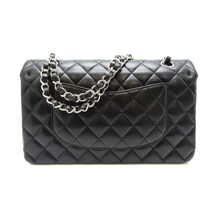 Chanel Matelasse Chain Shoulder 25 Ladies Bag Lambskin Black / Silver Hardware