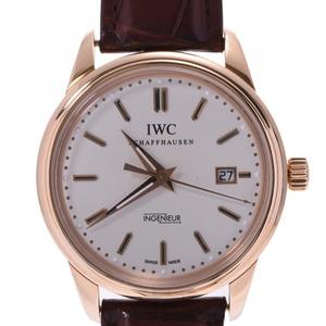 IWC SCHAFFHAUSEN Idabruch Schaffhausen Vintage Ingenieur IW323303 Mens PG Watch Automatic White Dial