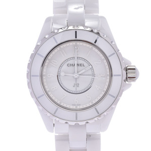 CHANEL Chanel J12 White Phantom LTD Edition Ceramic Mid Size Watch H3442