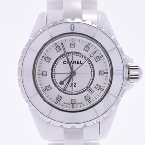 CHANEL J12 Diamond Ceramic Quartz Ladies Watch H1628