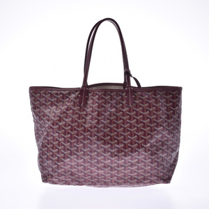 GOYARD Saint-Louis PM Bordeaux Unisex PVC Tote Bag