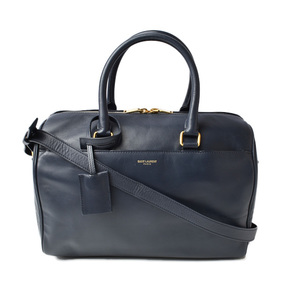 Saint Laurent Handbag Shoulder Bag SAINT LAURENT Classic Duffle 6 2WAY Dark Navy 322049