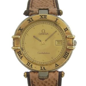 OMEGA Constellation Mens Quartz Watch Combination
