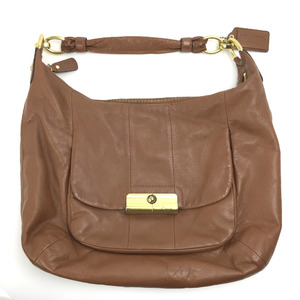 Coach shoulder bag kristin large hobo shortage 16787 leather brown ladies COACH K90912213 PD1