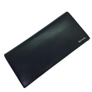 Paul Smith long wallet leather black men K90923606