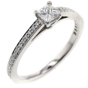 Tiffany Grace Diamond 0.25ct E VVS2 Square NONE Ring / Platinum PT950 No. 10 Ladies TIFFANY & Co.K90823847 PD1