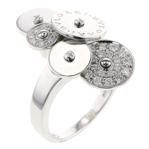Bvlgari Chicladi Ring No. 14 K18 White Gold Diamond Ladies BVLGARI K90923345