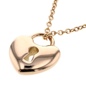Tiffany Miniloc Heart Necklace in 18k Pink Gold Ladies TIFFANY & Co. K90823925 PD2