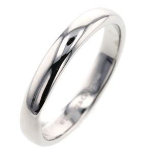 Tiffany Classic Band about 3mm Ring / Platinum PT950 No. 14 Ladies Unisex TIFFANY & Co. K90913275 PD2