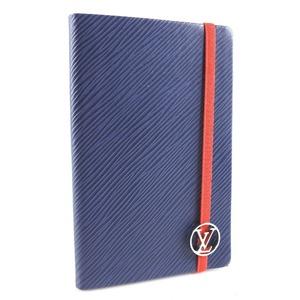 Louis Vuitton Epi leather blue men's notebook cover