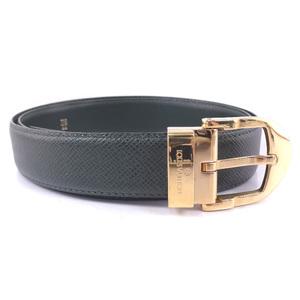 Louis Vuitton Sunture Classic Taiga Episea Green Men's Belt