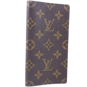 Louis Vuitton Agenda Posh R20503 Monogram Canvas Brown Notebook Cover