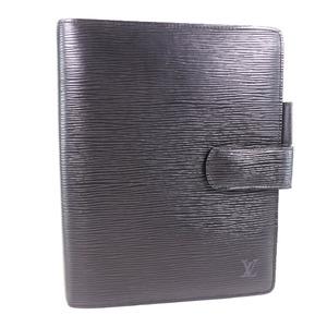 Louis Vuitton Agenda GM R20062 Epi Leather Black Men's Notebook Cover