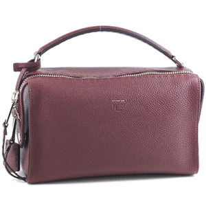 FENDI Fendi Ray LEI 8BL137 NDU F0QH0 Calf Wine Red Ladies Shoulder Bag