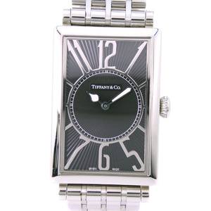 TIFFANY Gallery Z3002.10.10A10A00A Stainless Steel Quartz Unisex Black Dial Watch