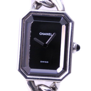CHANEL Premiere Size L Steel Quartz Ladies Watch H0452