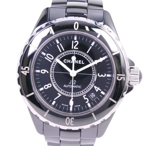 CHANEL J12 Ceramic Automatic Mens Watch H0685