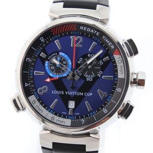 LOUIS VUITTON Tambour Regatta Chronograph Quartz Watch Q102D