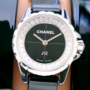 CHANEL J12 XS H4665 Ceramic Diamond 13944 Quartz Ladies Watch