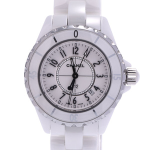 CHANEL J12 Ceramic Quartz Ladies Watch H0968