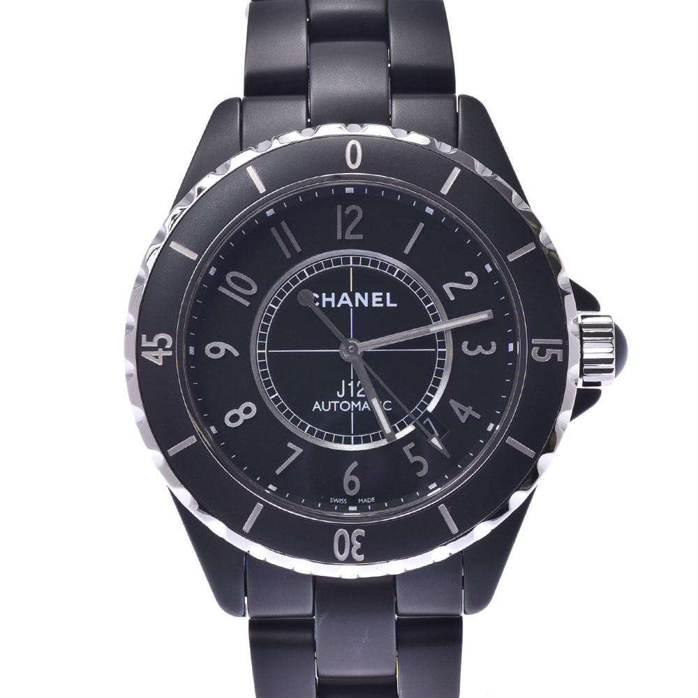 CHANEL Chanel J12 Ceramic Automatic Mens Watch H3131