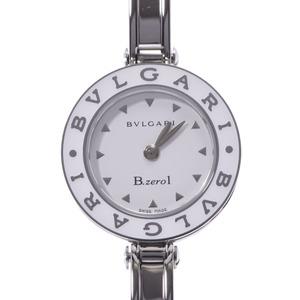 BVLGARI Bvlgari B-ZERO Bangle Watch BZ22S Ladies SS Quartz White Dial