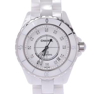 CHANEL J12 Diamond Ceramic Automatic Mens Watch H1629