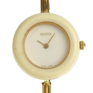 GUCCI Change Bezel Watch Ladies Quartz