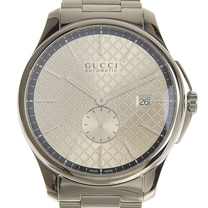 GUCCI G Timeless Stainless Steel Mens Automatic Watch 126.3
