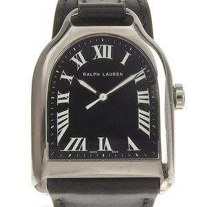 RALPH LAUREN Stilap Large Mens Automatic Watch Black Dial