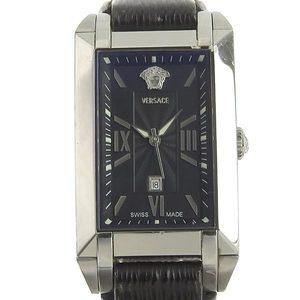 VERSACE Versace mens Quartz Watch black dial NLQ99